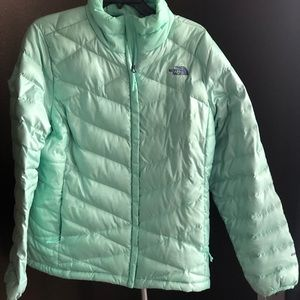 Ladies The North Face Puffer Jacket